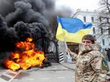 """Бойцы батальона """"Айдар"""" начали жечь покрышки и штурмовать Минобороны Украины из-за решения о расформировании"""