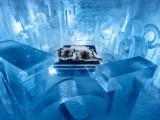 Уникальный постоянно действующий ледяной отель