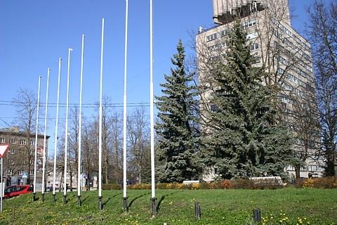Нарве предлагают создать площадь Флага