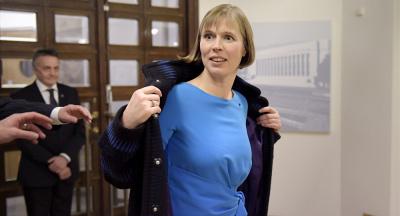 Президент Эстонии Керсти Кальюлайд заняла на Тартуском марафоне 922-е место