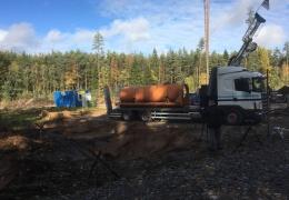 ФОТО: под Йыхви готовятся искать полезные ископаемые