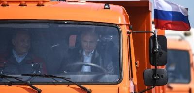 Владимир Путин открыл Крымский мост