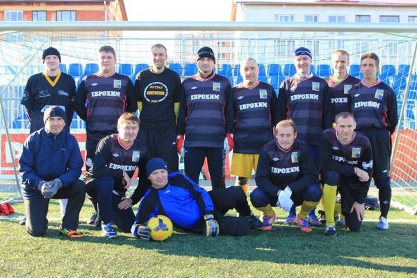 За Кубок мэра Нарвы по футболу среди ветеранов поборются команды из Эстонии, России и