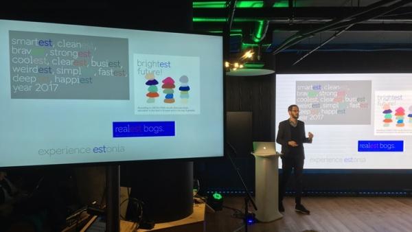 EAS представил новый рекламный символ Эстонии