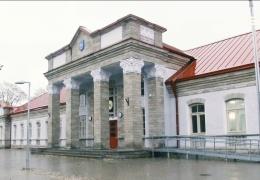 В Нарве возобновилось строительство навеса для автовокзала