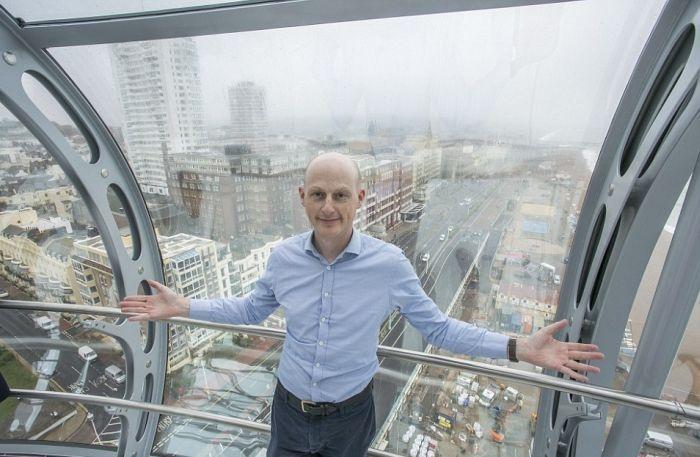 Британская обзорная башня напоминает орбитальный лифт