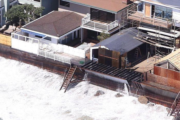 Миллионеры Малибу потратят 31 миллион долларов на спасение своих домов