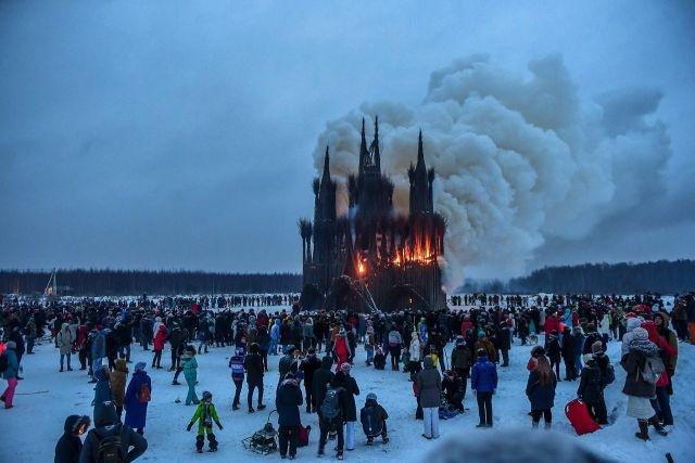Масленица для эстетов: эпичное празднование в Калужской области