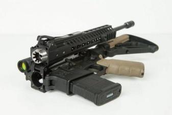 В США презентовали складную винтовку AR-15
