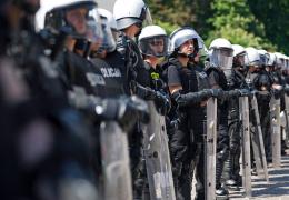 В Польше массовые беспорядки после убийства фаната полицейским, есть пострадавшие