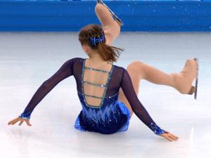 Фигуристка Сотникова идет второй после короткой программы, Липницкая упала