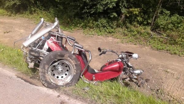 На шоссе Таллинн-Тарту в ДТП погиб финский мотоциклист