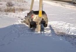 Странная авария в Альметьевске