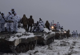 Украина стягивает войска к побережью Азовского моря