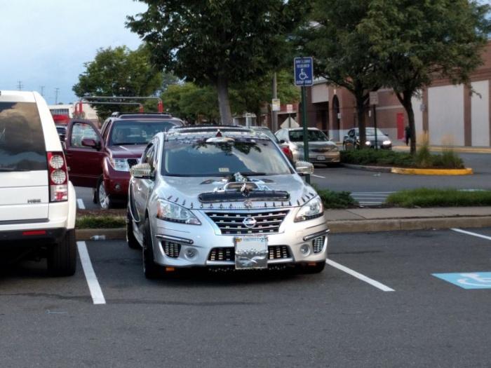 Необычная машинка гонщика из Вирджинии