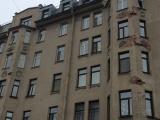 Лепнину на историческом здании в Питере отреставрировали при помощи монтажной пены