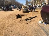 Мощный подземный взрыв прогремел под машиной в Одессе
