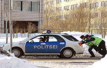 Нарвская полиция рулит