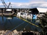 Неудачный спуск на воду люкс-яхты стоимостью 6 миллионов долларов