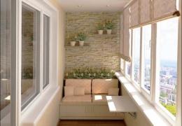 Крутые дизайны балконов