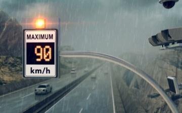 Электронные табло ограничения скорости могут появиться на дорогах Эстонии с нового года