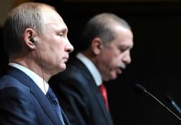 Владимир Путин прибыл с двухдневным визитом в Анкару