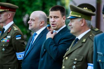 Ратас в День Победы: пусть свобода Эстонии длится вечно