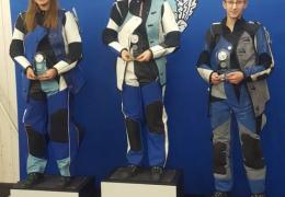 Нарвские стрелки на заключительном этапе кубка «Аудентес» завоевали весь пьедестал