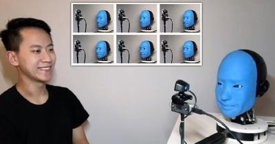 Ученые научили робота-андроида человеческой мимике