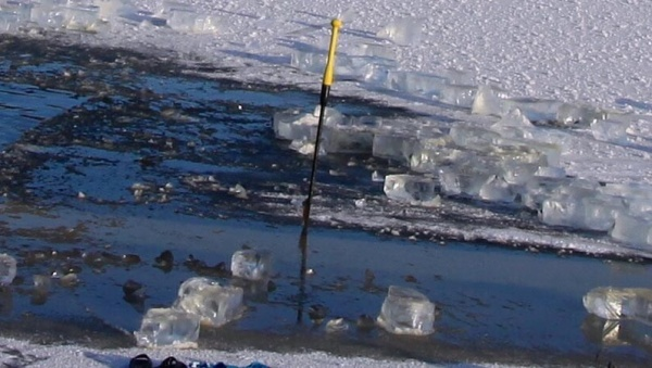С завтрашнего дня запрещен выход на лед на большей части Чудского озера