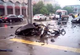 YouTube ВИДЕО: в жутком ДТП с участием сына мультимиллионера погибли 4 человека