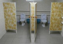 В российской школе торжественно открыли туалет — первый за 145 лет