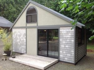 Крошечный дом американского архитектора Криса Хейнинга