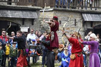 На фестивале в Нарве пройдут рыцарские турниры и демонстрация стрельбы из средневекового оружия
