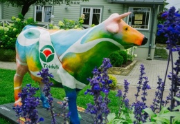 В Нарве около торгового центра появится скульптура коровы