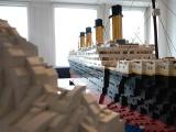 Копия Титаника из 25 000 игрушечных кубиков LEGO
