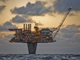 Нефтяная платформа на ножке