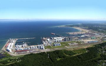 В порту Мууга за 200 млн евро построят промышленный и логистический комплекс