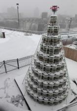 Рождественская елочка для любителей пива