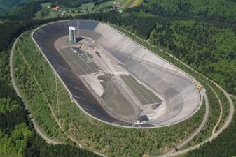 Гидроаккумулирующая электростанция. Вот это масштабы!