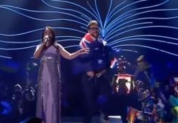 Украинцу, который снял штаны на сцене Евровидения, грозит до 5 лет тюрьмы