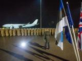 в Эстонию прибыли 130 военнослужащих группы быстрого реагирования НАТО