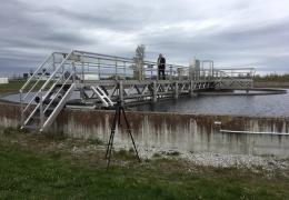 В Кохтла-Ярве реконструируют систему очистки сточных вод для избавления от неприятного запаха