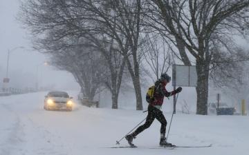 Департамент: дороги в Эстонии местами заснеженные и скользкие