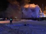 Пожар в пансионате Мяннику в Ида-Вирумаа, вероятно, вызвала неисправность электроустановки