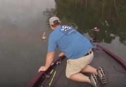Необычный «улов» на рыбалке