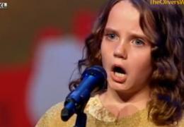 Невероятный голос на шоу талантов
