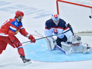 Российские хоккеисты одолели словаков в серии буллитов