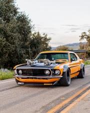 Классический Ford Mustang Twin-Turbo 1969 года готов вас шокировать