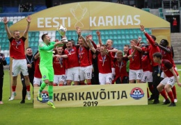 Нарвский Транс — обладатель Кубка Эстонии по футболу 2019